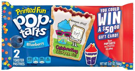 Co-Branded Breakfast Pastries - Kellogg's is Now Selling Slurpee Birthday Pop-Tarts at 7-Eleven