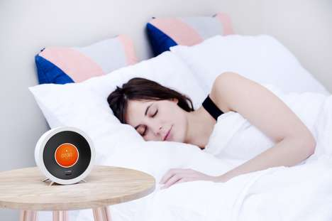 AI Alarm Clocks - The Bonjour Alarm Clock Connects to IoT Devices to Wake Users Intelligetly