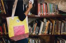 Upcycled Plastic Tote Bags - Up-Fuse Gives Wasteful Single-Use Plastic Bags a New Purpose in Life