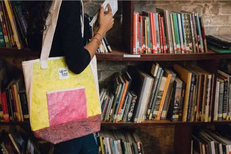 Upcycled Plastic Tote Bags
