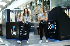 Date-Themed Vaporizer Activations - Blu's 'Six Weeks to Fall in Love' Builds a Product Relationship