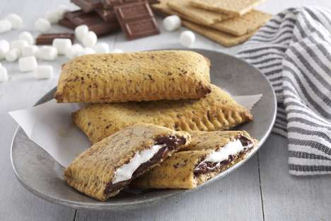Oversized S'Mores Pockets - Hunt Brothers Pizza's 'MEGA S'mores' Put a New Spin on a Campfire Treat