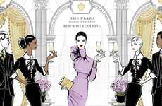 Hotel Etiquette Programs - The NYC Plaza Hotel is Offering 'Etiquette Evening' Classes