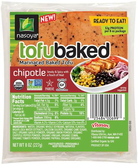 Marinated Tofu Packets