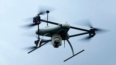 Range-Roving Reconnaissance Drones