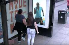 Workout Bus Shelters - Lucozade Turned a Bus Stop Shelter into an Active 'Wait Training' Station