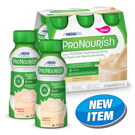 Digestion-Aiding Shakes - Nestlé's New ProNourish Shake Helps Those with Digestive Sensitivities