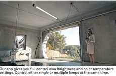 Efficient Modular Light Systems - The Kiën 'LICHT 1' Light Emulates Daylight within Homes