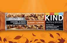 Nutty Pumpkin-Flavored Snacks - The Newest KIND Bar Flavor Puts a Nutty Twist on Pumpkin Spice