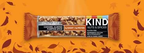 Nutty Pumpkin-Flavored Snacks