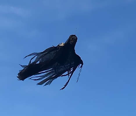 Dark Creature Drones - This Drone Prank Involved the Creation of a Flying Dementor
