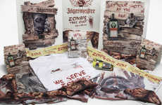 Zombified Alcohol Kits - Jägermeister is Sharing Themed Drink Kits with Bars and Pubs for Halloween