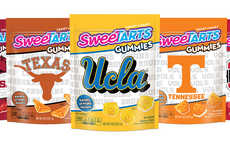 Collegiate Gummy Candies - The SweeTARTS College Gummies are Shaped Like College Mascots