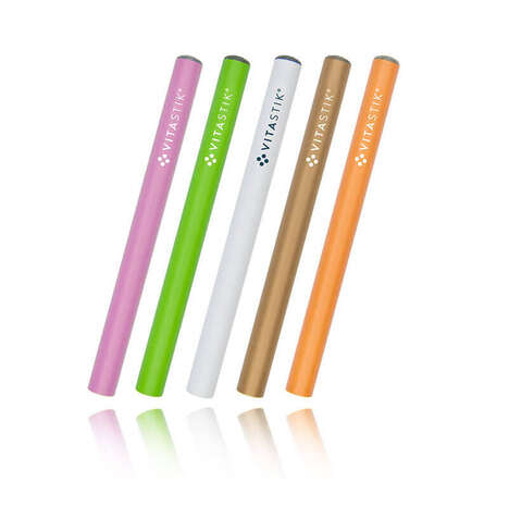 Portable Vitamin Vaporizers - The VITASTIK Offers a Substitute for Smokers and Non-Smokers