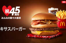 Revamped Fast Food Burgers - McDonald's Japan is Reimagining the Big Mac with Its New Texas Burger