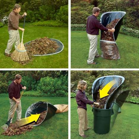 Flexible Yard Waste Mats
