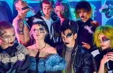 Rebellious Beauty Portraits - Vogue Ukraine's 'V chem sila' Beauty Story Boasts Raver Style Picks