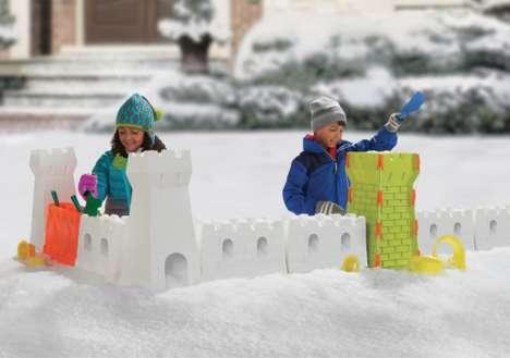 Outdoor Winter Castle Toys