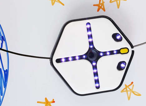 Artistic Coding Robots - The 'Root' Robot for Beginners Lets Families and Kids Partake in Coding