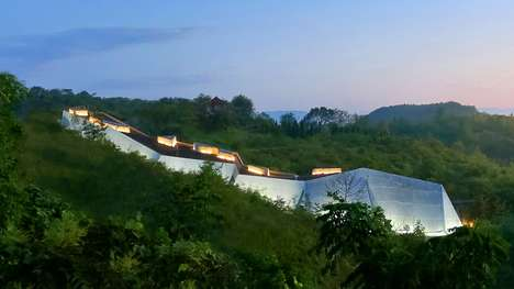Dinosaur Egg Museums - Qinglong Mountain Geopark's Museum Highlights Fossilized Dinosaur Eggs