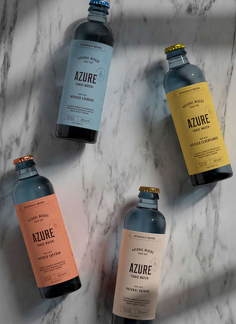 Upscale Botanical Tonic Waters