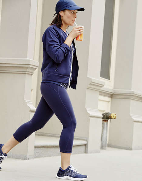 Collaborative Activewear Apparel - This J Crew and New Balance Collection Expands Beyond Footwear