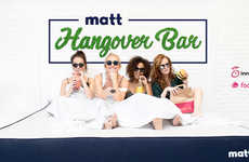 Restorative Hangover Bars - The 'Matt Hangover Bar' Supplies Beds, Inhalable Oxygen and More