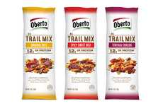 Nutty Jerky Packets - Oberto's Newest Product Revamps a Classic Snack for Hiking