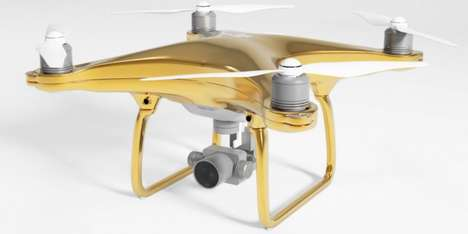 Gold-Plated Drones