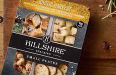 Tapas-Inspired Snack Packs - Hillshire's New Snacks Play on the Popularity of Small Plates