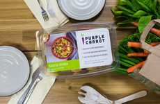 Grocery Store Meal Kits - Whole Foods Will Now Sell Purple Carrot's Plant-Based Meal Kits in Stores