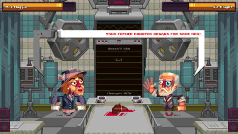 Gentlemanly Insult Games - 'Oh...Sir!' is a Video Game in Which Playable Gentlemen Insult Each Other