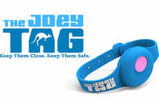 Child-Tracking Wearables - The Joey Tag is a Wearable GPS Unit to Keep Children Safe