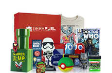Pop Culture Merchandise Subscriptions - The Geek Fuel Monthly Boxes Provide Ample Franchise Gear