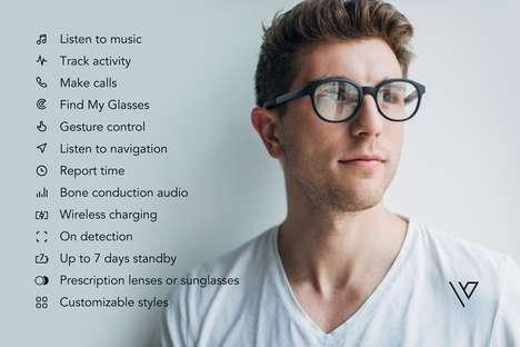 Fitness-Tracking Headphone Glasses