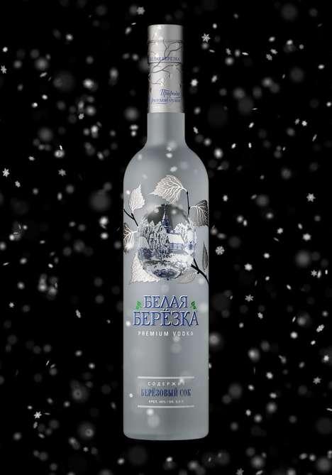 Indented Vodka Bottle Concepts