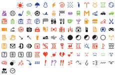 Enshrined Emoji Art - MoMA Has Added Shigetaka Kurita's Original Emojis to Its Permanent Collection