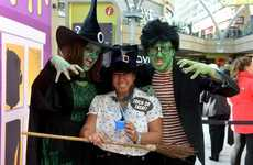 Monsterous Makeover Pop-Ups - Haribo's Halloween Academy Helps Adults Dress Up with Monster Makeup