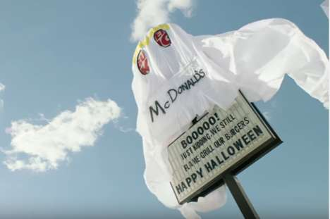 Ghostly Restaurant Pranks - The 'Scariest BK' is Dressed Up as the Ghost of McDonald's