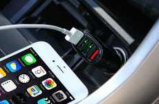 Port-Expanding Vehicle Adapters - The Vodool USB Universal 4-Port Car Charger is Fast Charge-Enabled