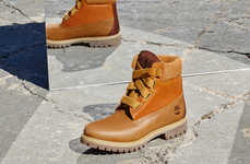 Revitalized Thick-Laced Boots - These New Timberlands Were Created with Opening Ceremony's Input