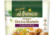 Artisan Flavor Chicken Meatballs - The Al Fresco Chicken Meatballs Contain 50% Less Fat