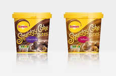 Low-Calorie Cake Desserts - The Soreen Squidgy Cake Bites are Ready for Sharing at Lunch