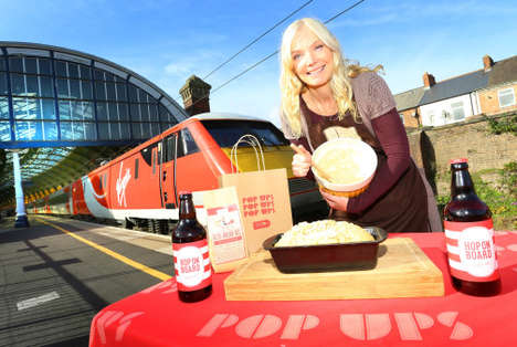 Boozy Bread Pop-Ups - Virgin Trains' Food Store Pop-Up Features Bread, Baking Kits and Beer