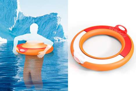 Wearable Suit Life Buoys