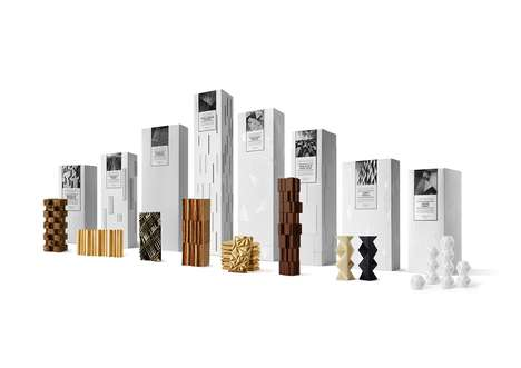 Architectural Food Gifts - These Gift Sets Were Designed to Promote a Property Development Firm