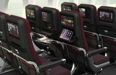 Modernized Aircraft Cabins - The Qantas Airplane Cabins for its New Fleet are Sophisticated