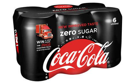 Charitable Soda Bottle Promotions