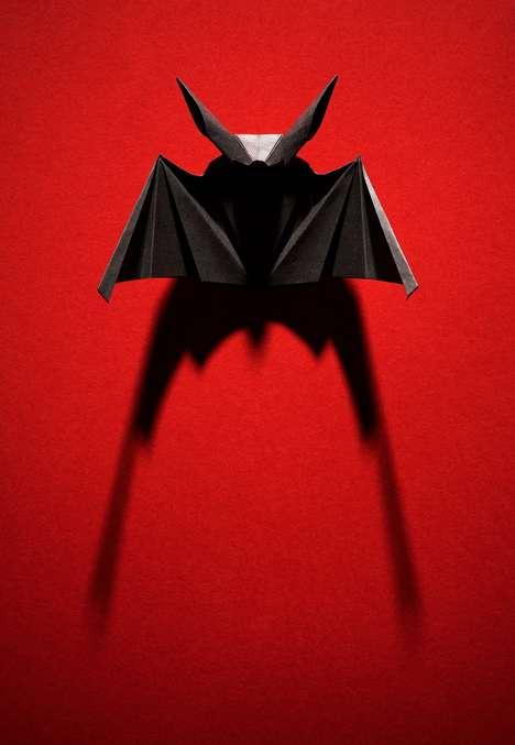 Halloween Origami Sculptures