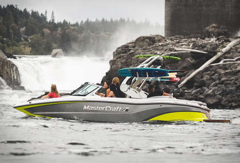 Entertainment-Focused Speed Boats